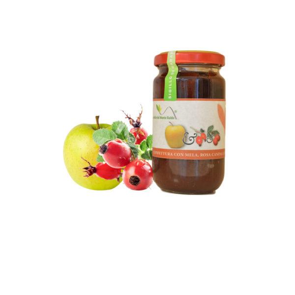 Confettura mela e rosacanina